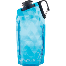 Platypus DuoLock SoftBottle 1000ml blue prisms